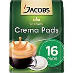 Dosettes de café Jacobs Crema Pads 16 Unités de 6.5 g