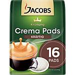 Dosettes Jacobs Crema Pads 16 Unités de 6.5 g