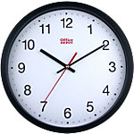 Horloge murale Office Depot RD3330B 31.5 x 5 cm Noir, blanc
