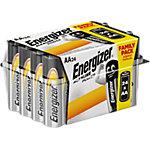 Piles alcalines Energizer LR6 AA 24 unités