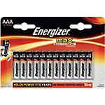 Max Piles Energizer AAA AAA 12 unités