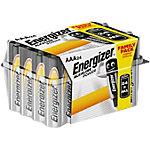 Piles alcalines Energizer LR03 AAA 24 unités