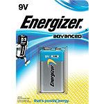 Piles alcalines Energizer Advanced 9V