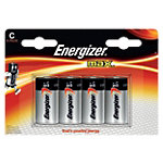Max Piles Energizer C C 4 Unités