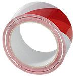 Ruban adhésif 50 mm (l) x 66 m (L) Rouge, blanc