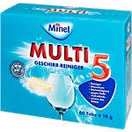 Comprimés lave vaisselle Minel Multi 5 60 Unités
