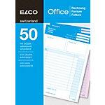 Bloc autocopiant Elco Factures A5 100 feuilles