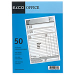 Blocs autocopiants Elco Factures A5 100 feuilles