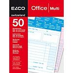 Bloc autocopiant Elco Universel A6 50 feuilles
