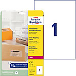 Étiquettes d'adresse AVERY Zweckform QuickPEEL™ Transparent 210 x 297 mm A4 25 Feuilles 25 Unités