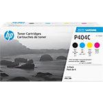 Toner Samsung D'origine CLT P404C Cyan, Magenta, Jaune, Noir 4 Unités
