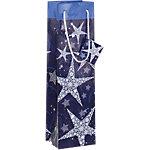 Emballage cadeau pour bouteille Sigel Violet, bleu 100 (l) mm 5 Unités