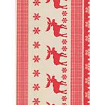 Papier cadeau de Noël Papyrus Bodo 500 mm x 50 m Rouge