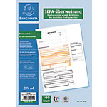 Formulaires de virement Exacompta SEPA Blanc A4 21 x 29,7 cm 100 feuilles