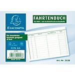 Carnet registre de kilométrage Exacompta FA514 Blanc A6 40 feuilles
