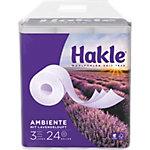 Papier toilette Hakle Ambiente 3 épaisseurs 24 Rouleaux de 150 Feuilles