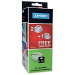 Rouleaux d'étiquettes DYMO LW (2+1 gratuit) 101 x 54 mm Blanc 3 Unités de 220 Étiquettes