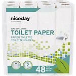 Papier toilette Highmark Standard 2 épaisseurs 48 Unités de 200 Feuilles