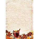 Papier de Noël Motif Sigel Christmas Flavor 90 g
