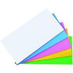 Feuilles électrostatiques Legamaster Magic Chart 7 159499 Assortiment 10 x 20 cm 500 unités