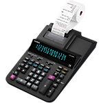 Calculatrice imprimante Casio DR 320RE Avec rouleau 14 chiffres Noir