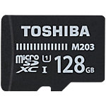 Carte mémoire micro SDXC Toshiba M203 128 Go