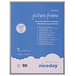 Cadre photo Niceday Gris 40 x 30 cm 2 unités