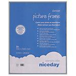 Cadre photo Niceday Gris 50 x 40 cm 2 unités