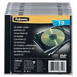 Boîtiers CD Fellowes 10 unités