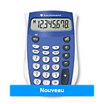 Calculatrice De Poche Texas Instruments TI 53,3 SV 80 mm Bleu