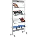 Porte brochures Kerkmann 4 x 3 x a4 73 x 31 x 160 cm