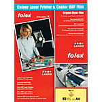 Transparents Folex BG72 A4 297 x 210 mm 50 Feuilles