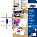 Cartes de visite Brillant AVERY Zweckform A4 240 g