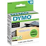 Étiquettes DYMO 11352 25 x 54 mm Blanc 500 Étiquettes