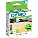 Étiquettes polyvalentes DYMO 11355 19 x 51 mm Noir sur blanc 500 Étiquettes