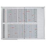 Planning personnel Franken JPC1235 Spécial Blanc 120 x 90 cm
