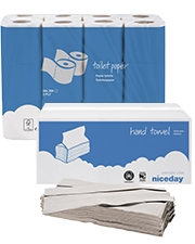À partir de CHF 7.95 Papier toilette et essuie-mains pliés