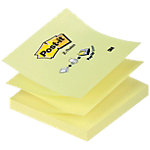 Z notes adhésives Post it R330 jaune 76 x 76 mm 100 feuilles 100 feuilles