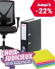 À partir de CHF0.25 Choix Judicieux - Excellent rapport qualité-prix avec nos marques propres