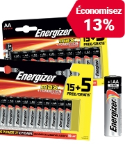 Seulement CHF1.85 Energizer Batterie