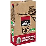 Capsules de café Non décafeiné SAN MARCO Intensité n°6
