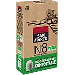 Capsules de café Non décafeiné SAN MARCO Intensité n°8   10 Unités
