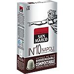 Capsules de café Non décafeiné SAN MARCO Intensité n°10   10 Unités