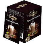 Sachets de Cappuccino SAN MARCO Noisette   100 Unités