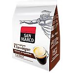 Dosettes de café Non décafeiné SAN MARCO Espresso classique   36 Unités
