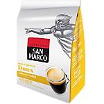 Dosettes de café Non décafeiné SAN MARCO Espresso doux   36 Unités