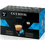 Capsules de café Non décafeiné CAFÉ ROYAL Lungo   33 Unités