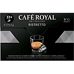 Capsules de café Non décafeiné CAFÉ ROYAL Ristretto   33 Unités
