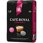 Dosettes de café Non décafeiné CAFÉ ROYAL Lungo forte   56 Unités