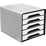 Module à tiroirs CEP Smoove 28,8 x 36 x 27,1 cm Blanc, Noir